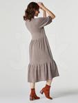 Платье 0050 Эмита бежевый.
