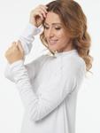Блуза  0086 Аликс белый.